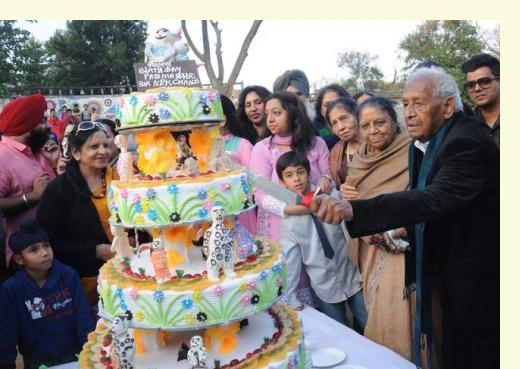 Nek Chand 90th Birthday